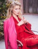 фото Эмбер Хёрд для  журнала Glamour Mexico 2018