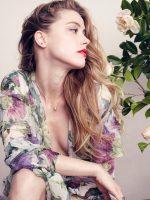 Amber Heard - Elle 2015