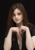 India Eisley - I Am the Night Press Conference