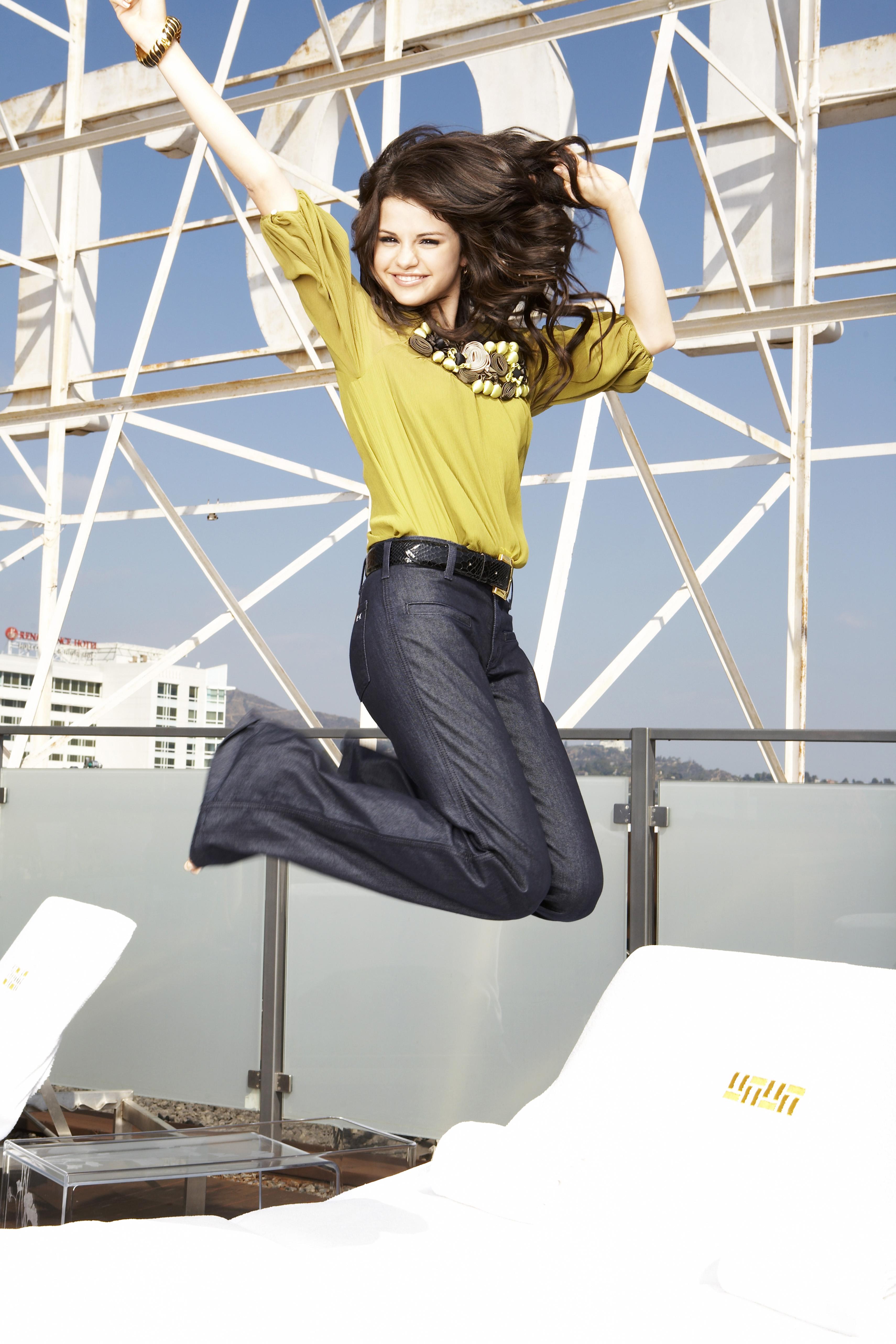 Селена Гомез - Фото для журнала OK Magazine 2008 года HQ