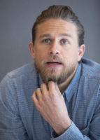 Charlie Hunnam - Triple Frontier Press Conference Portraits 2019