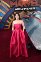 Elizabeth Henstridge Captain Marvel Premiere