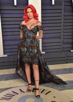 Halsey photos from Vanity Fair Oscar Party 2019