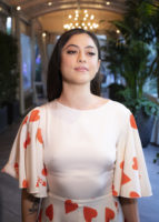 Rosa Salazar - Alita Battle Angel Press 2019