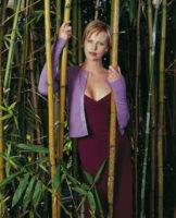 Charlize Theron - USA Today 1998