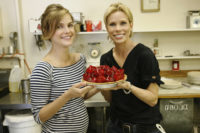 Keri Russell & Cheryl Hines - USA Today 2007