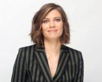 Lauren Cohan - Mile 22 press conference 2018