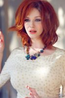 Christina Hendricks - Flare 2013