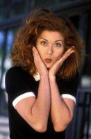 Debra Messing - Self Assignment 1996