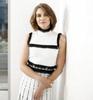 Lauren Cohan - AOL Build portraits by Briah Arch 2018