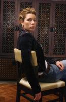 Jessica Biel - Los Angeles Times 2004