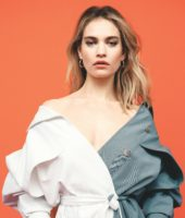 Lily James - Telegraph Magazine June 2019