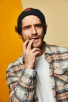 Tyler Posey - Pizza Hut Lounge portraits 2019