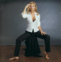 Tiffani-Amber Thiessen - Self Assignment 2001