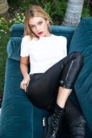 Stella Maxwell - 7 For All Mankind clothing launch Photoshoot 2018