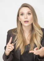 Elizabeth Olsen - Wind River press conference portraits 2017