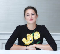 Shailene Woodley - Snowden Press Conference Portraits 2016