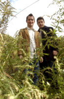 Elijah Wood & Sean Astin - Los Angeles Times 2003