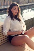 Candice Huffine - Madame Figaro 2015