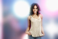 Kelly Rowland - Portrait session for AOL 2007