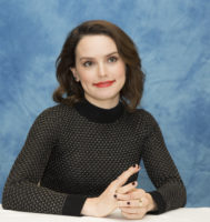 Daisy Ridley - Star Wars The Last Jedi press conference 2017