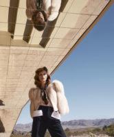 Karlina Caune - Harper's Bazaar 2014