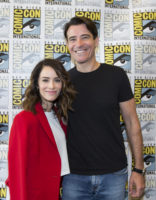 Abigail Spencer, Goran Visnjic - Timeless Press Conference Portraits 2016