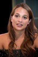 Alicia Vikander - Jason Bourne Press Conference Portraits 2016