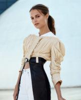 Alicia Vikander - Marie Claire France 2016