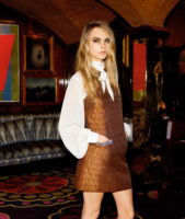 Cara Delevingne - Topshop Christmas Collection 2014
