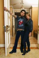 Carmen Electra & Dave Navarro - USA Today (January 8, 2004)