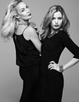 Jerry Hall and Georgia May Jagger - Elle Brazil 2013