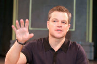 Matt Damon - Jason Bourne Press Conference Portraits (2016)
