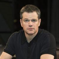 Matt Damon - Jason Bourne Press Conference Portraits (2016)
