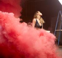 Rita Ora - Tezenis Miami Bra Campaign 2017