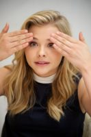 Chloe Moretz - If I Stay Press Conference Portraits (2014)