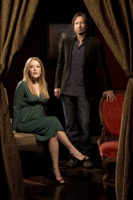 David Duchovny and Gillian Anderson - USA Today (July 18, 2008)