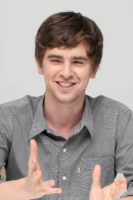 Freddie Highmore - The Good Doctor press conference portraits (2017)